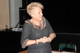 Profesor Halina Lorkowska, Rektor Akademii Muzycznej im. Ignacego Jana Paderewskiego w Poznaniu