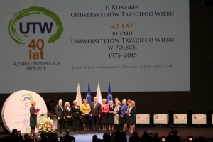 II Kongres Uniwersytetów Trzeciego Wieku, Teatr Wielki w Warszawie, 30 marca 2015 roku