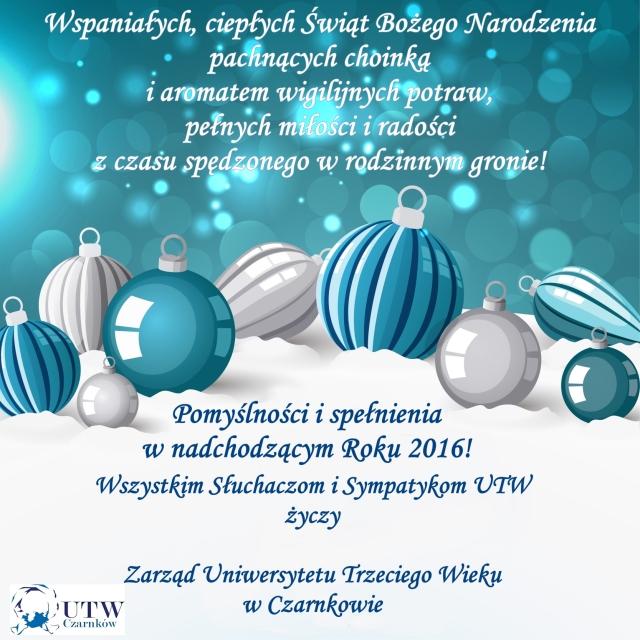 Życzenia 2015 gwiazdka
